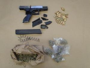 Evidence seized by Lowell police